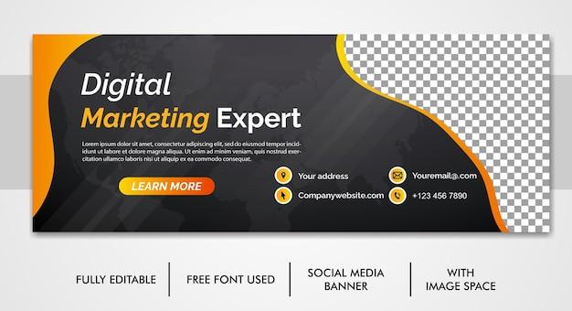 Promocja marketingu cyfrowego biznesu