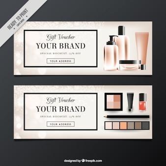 Promocyjne kupony kosmetyków