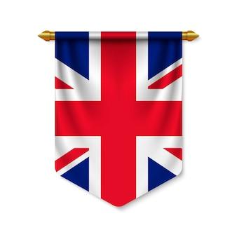 Proporczyk 3d realistyczne z flagą
