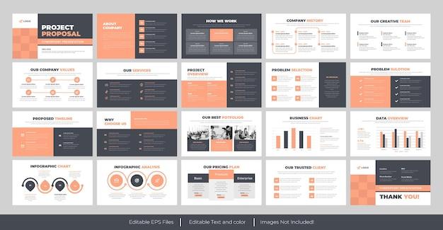 Propozycja biznesowa szablony prezentacji powerpoint