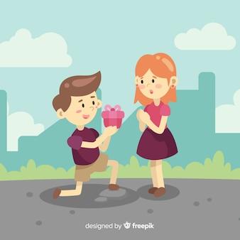 Propozycja tła valentine