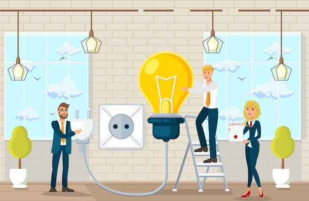 Propozycje zrobienia mieszkania i pomysły w kancelarii.