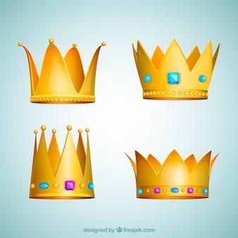 Prosta kolekcja korony
