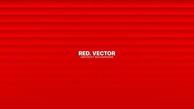 Proste linie z rozmytym efektem jasnoczerwone abstrakcyjne tło