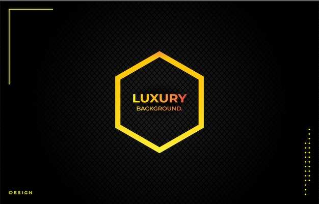 Proste luksusowe tło z złotym gradientem
