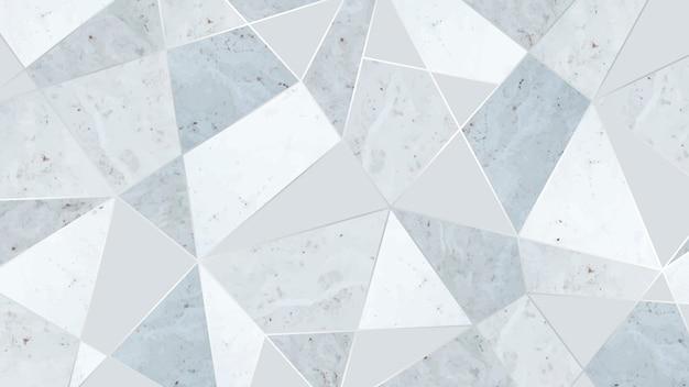Proste szare trójkątne tło