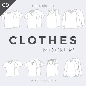 Proste ubrania