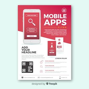 Prosty szablon aplikacji mobilnej