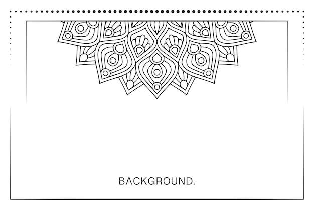 Prosty szablon tła dla banera lub wizytówki