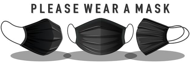 Proszę nosić znak maski