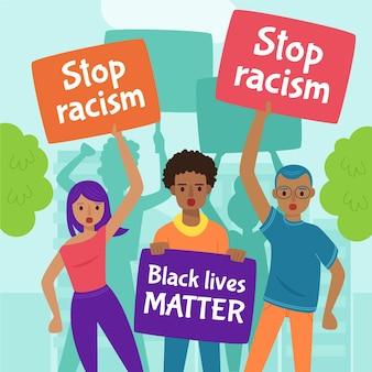 Protest przeciwko rasizmowi