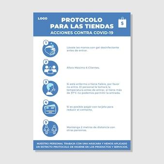 Protokół zapobiegania koronawirusom dla firm