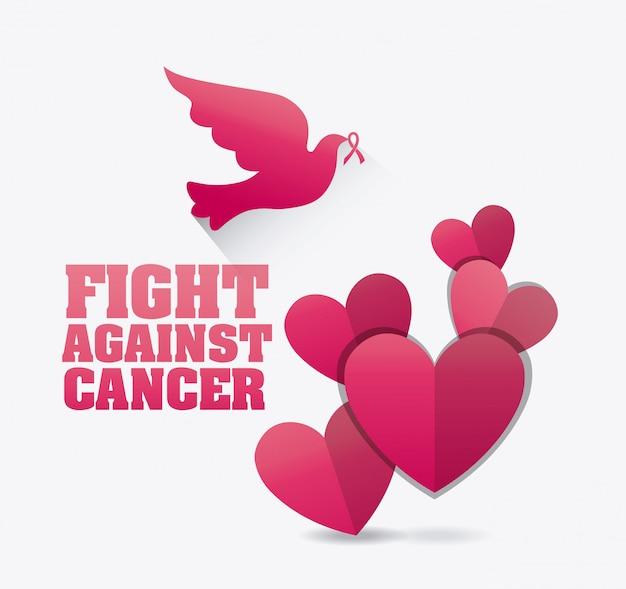 Przeciw kampanii przeciw rakowi piersi