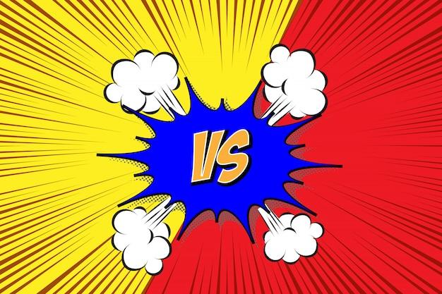 Przeciw. styl komiksów vs. walka