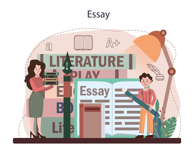 Przedmiot szkoły literackiej. studiuj starożytnego pisarza i współczesną powieść.
