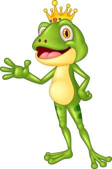 Przedstawienie słodkiej żaby