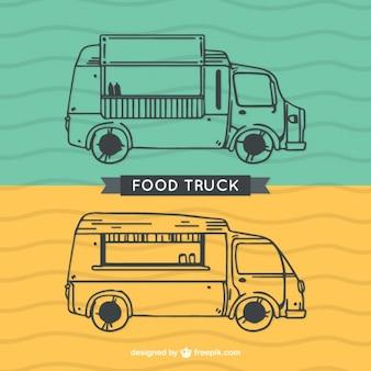Przedstawione Ciężarowe żywności Darmowych Wektorów