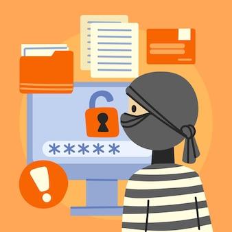 Przedstawiono koncepcję kradzieży danych