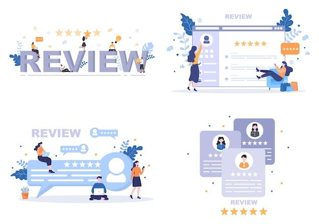 Przejrzyj ilustrację gwiazdy dającej klientowi