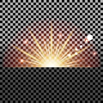 Przejrzysty efekt świetlny