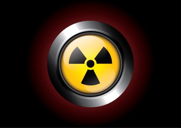 Przełącz radioaktywny przycisk na czarny