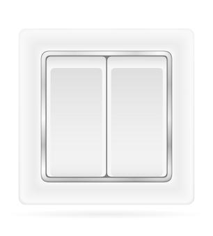 Przełącznik elektryczny do okablowania elektrycznego w pomieszczeniach