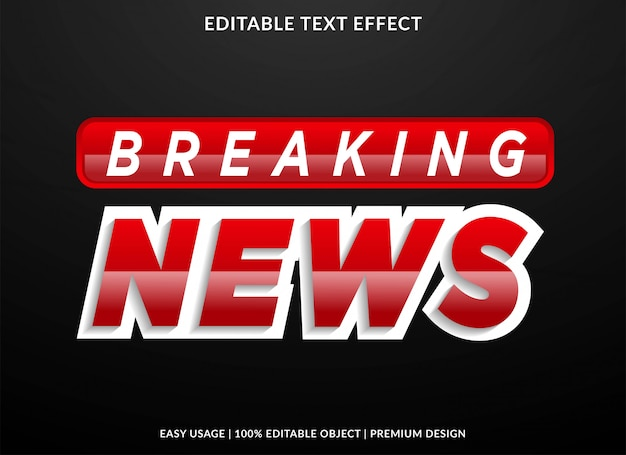 Przełomowy efekt tekstowy z odważnym stylem