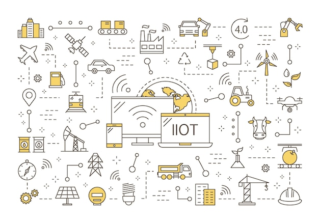 Przemysłowy internet koncepcji rzeczy