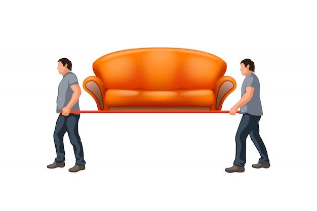Przenoszenie sofy