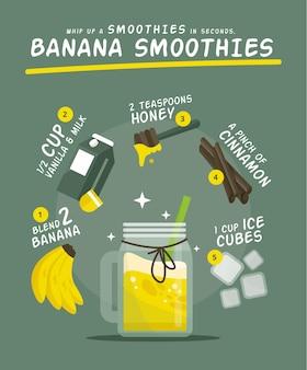 Przepis na zdrowe smoothie
