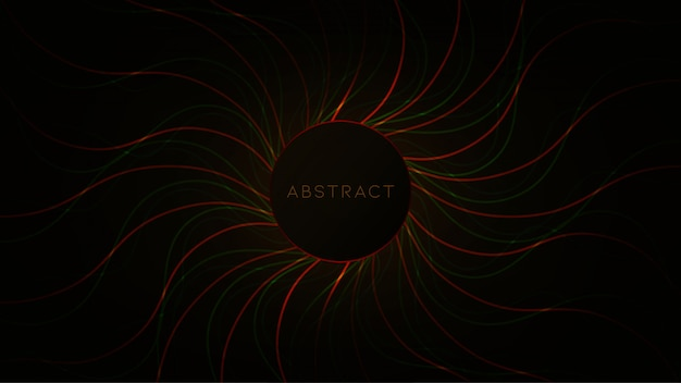 Przepływ danych na abstrakcyjnym tle składu kabli