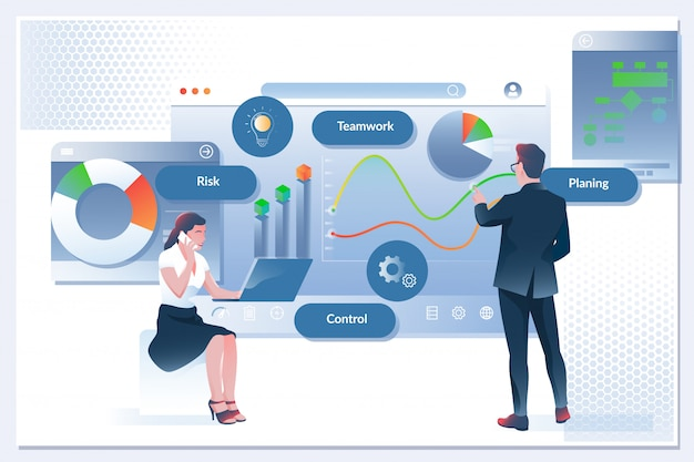 Przepływ pracy w firmie, zarządzanie czasem, planowanie, aplikacja do zadań