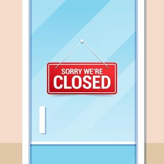 Przepraszamy, mamy zamknięty szyld