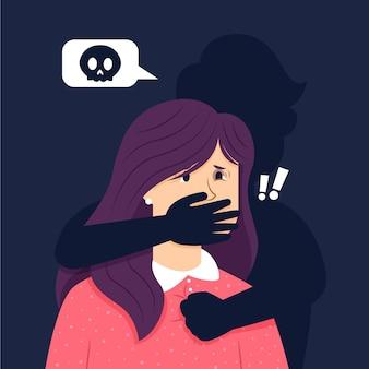 Przestań ilustrować przemoc ze względu na płeć