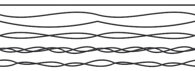 Przewody elektryczne elastyczne, połączenia kabli energetycznych