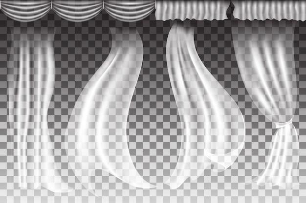 Przezroczyste tło tkaniny