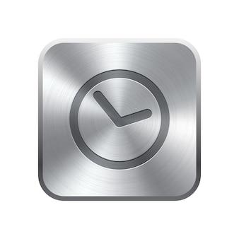 Przycisk ikony zegara