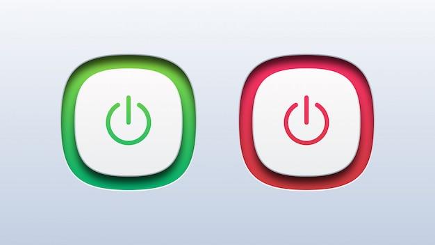 Przycisk włączania i wyłączania