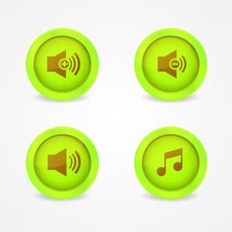 Przyciski muzyczne