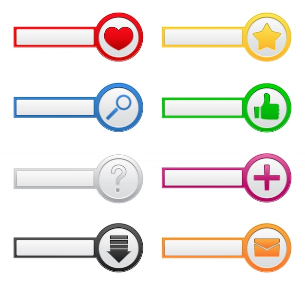Przyciski z ikonami