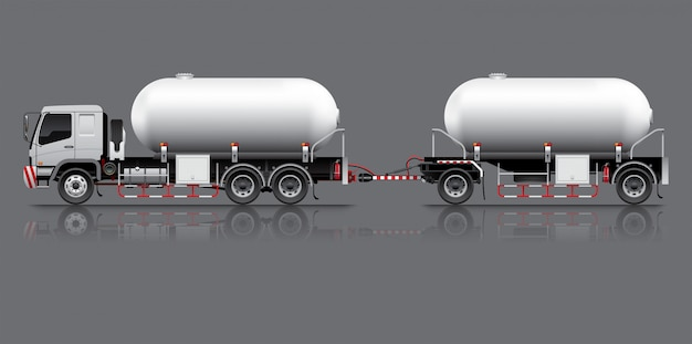 Przyczepa do zbiornika paliwa