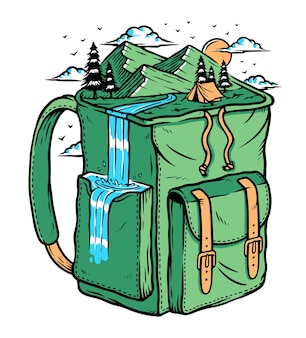 Przygoda w góry z torbą