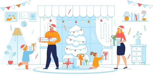 Przygotowanie świątecznych prezentów