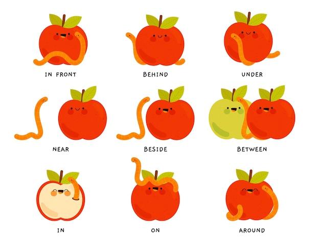 Przyimki angielskie dla dzieci