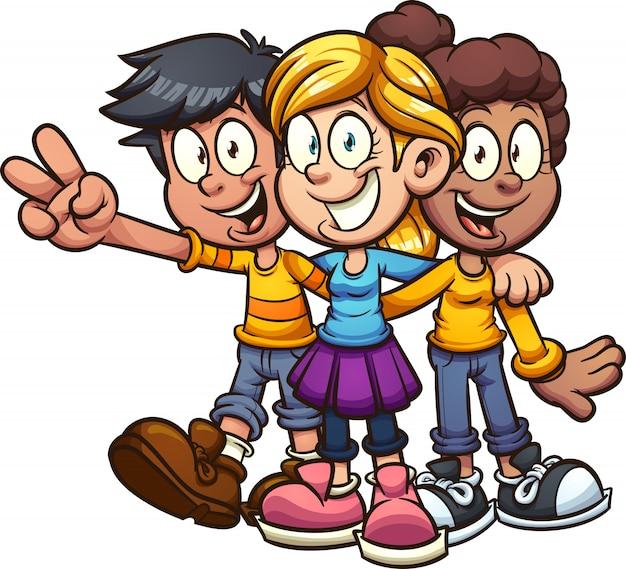 Przyjaciele z kreskówek