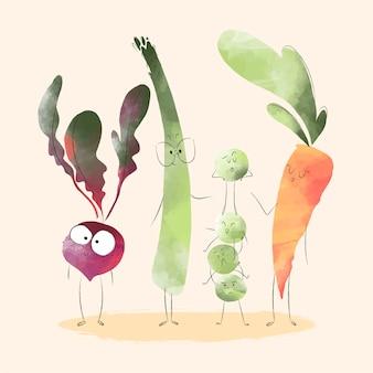 Przyjaciele z warzyw