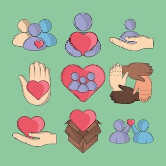 Przyjazny i troskliwy związek