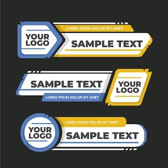 Przykładowy tekst niższy trzeci szablon