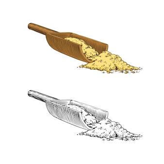 Przyprawa korzeni imbiru, posiekane kłącze, świeży składnik roślinny.