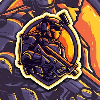 Przyszłe logo esport armii